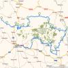 mapa ruta secretos del prepirineo