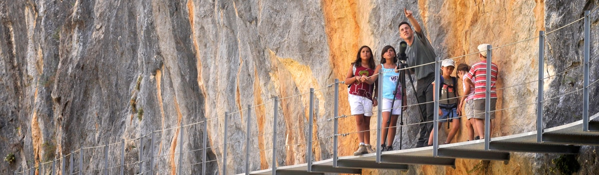 Ruta de las Pasarelas, Alquézar - Turismo Somontano