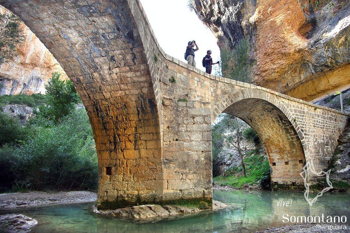 Pont de villacantal alqu zar turismo somontano for Oficina de turismo huesca